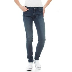 vaatteet Naiset Skinny-farkut Wrangler Molly River Washed W251ZB33T blue