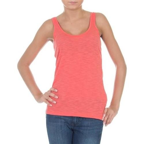 vaatteet Naiset Hihattomat paidat / Hihattomat t-paidat Wrangler Essential Tanks W7244GRHJ pink