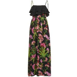 vaatteet Naiset Pitkä mekko Morgan RASSIM Black / Green