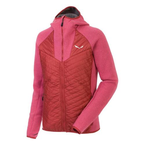 vaatteet Naiset Fleecet Salewa Bluza  Fanes PL/TW W Jacket 25984-6336 pink