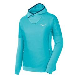 vaatteet Naiset Fleecet Salewa Bluza  Pedroc PTC Alpha W Hoody 26355 blue