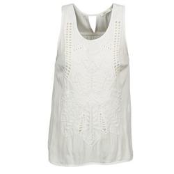 vaatteet Naiset Hihattomat paidat / Hihattomat t-paidat See U Soon CHELSEA White / Grey