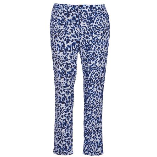 vaatteet Naiset Väljät housut / Haaremihousut See U Soon CLARA Blue / Black