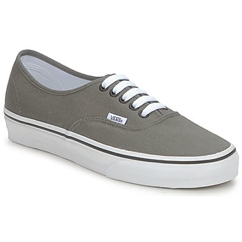 kengät Miehet Matalavartiset tennarit Vans AUTHENTIC Grey