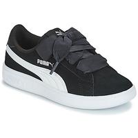 kengät Lapset Matalavartiset tennarit Puma SMASH V2 RIB PS Black