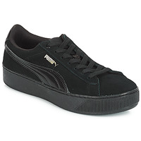 kengät Naiset Matalavartiset tennarit Puma VIKKY PF 182 Black
