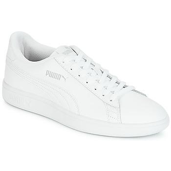 kengät Miehet Matalavartiset tennarit Puma SMASH White