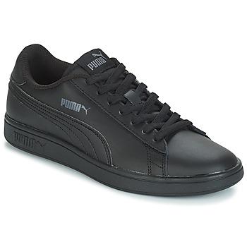 kengät Miehet Matalavartiset tennarit Puma PUMA SMASH V2 L Black
