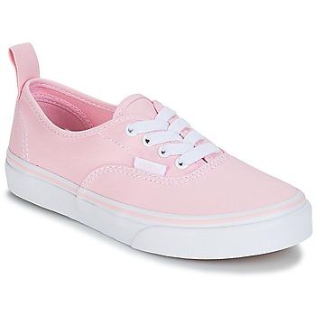 kengät Tytöt Matalavartiset tennarit Vans UY AUTHENTIC Pink