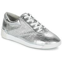 kengät Naiset Matalavartiset tennarit MICHAEL Michael Kors ADDIE LACE UP Silver