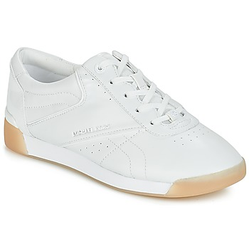 kengät Naiset Matalavartiset tennarit MICHAEL Michael Kors ADDIE LACE UP White