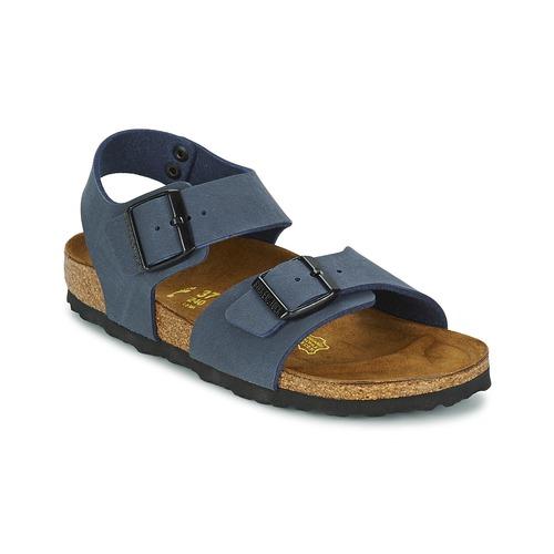 kengät Lapset Sandaalit ja avokkaat Birkenstock NEW YORK Laivastonsininen