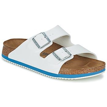 kengät Miehet Sandaalit ja avokkaat Birkenstock ARIZONA SL Valkoinen / Sininen