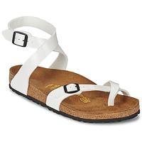 kengät Naiset Sandaalit ja avokkaat Birkenstock YARA White