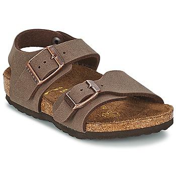 kengät Lapset Sandaalit ja avokkaat Birkenstock NEW YORK Mokka