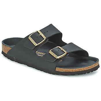 kengät Naiset Sandaalit Birkenstock ARIZONA Black / Kulta