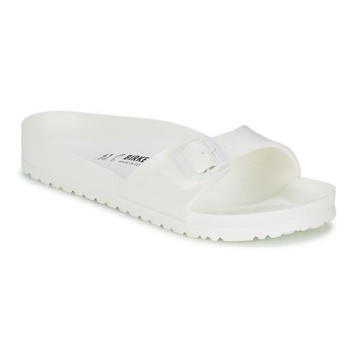kengät Miehet Sandaalit Birkenstock MADRID EVA White