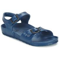 kengät Lapset Sandaalit ja avokkaat Birkenstock RIO EVA Laivastonsininen
