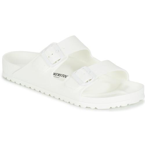 kengät Miehet Sandaalit Birkenstock ARIZONA EVA White