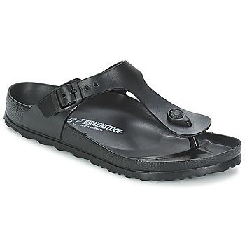 kengät Naiset Varvassandaalit Birkenstock GIZEH EVA Black