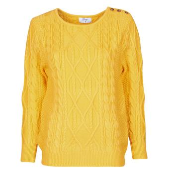vaatteet Naiset Neulepusero Betty London JEDRO Yellow