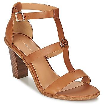 kengät Naiset Sandaalit ja avokkaat Tommy Hilfiger JOAN 7A Cognac