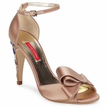 kengät Naiset Sandaalit ja avokkaat Charles Jourdan MANRAY Hiekka