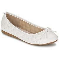 kengät Naiset Balleriinat Moony Mood VOHEMA White