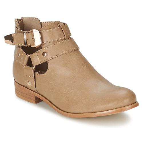 kengät Naiset Bootsit Moony Mood BEZAH Beige