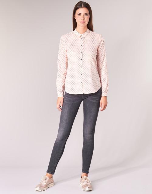 vaatteet Naiset 5-taskuiset housut Maison Scotch LA BOHEMIENNE Black