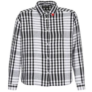 vaatteet Naiset Paitapusero / Kauluspaita Maison Scotch FRINDA Black / White