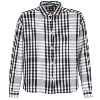 vaatteet Naiset Paitapusero / Kauluspaita Scotch & Soda FRINDA Black / White