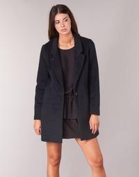 vaatteet Naiset Paksu takki Maison Scotch FINIRS Laivastonsininen
