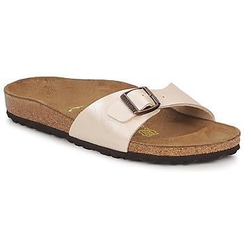 kengät Naiset Sandaalit Birkenstock MADRID Creme