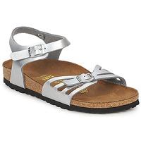 kengät Naiset Sandaalit ja avokkaat Birkenstock BALI Hopea