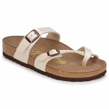 kengät Naiset Sandaalit Birkenstock MAYARI Creme