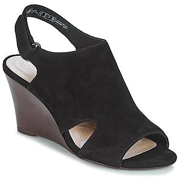 kengät Naiset Sandaalit ja avokkaat Clarks Raven Mist Musta