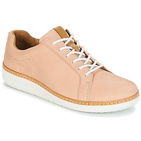 kengät Naiset Derby-kengät Clarks Amberlee Rosa Nude