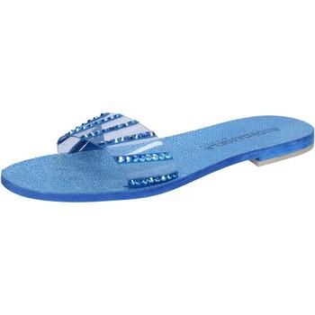 kengät Naiset Sandaalit ja avokkaat Eddy Daniele sandali blu camoscio plastica swarovski aw491 Blu