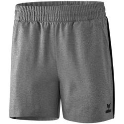 vaatteet Naiset Shortsit / Bermuda-shortsit Erima Short femme  Premium One 2.0 gris chiné/noir