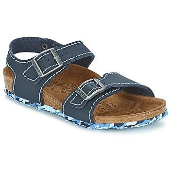 kengät Tytöt Sandaalit ja avokkaat Birki's NEW YORK Sininen
