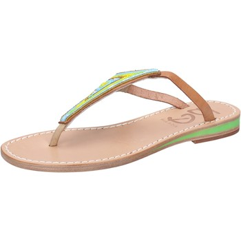 kengät Naiset Sandaalit ja avokkaat Eddy Daniele sandali multicolor pelle perline aw384 Multicolore
