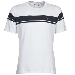 vaatteet Miehet Lyhythihainen t-paita Sergio Tacchini YOUNG LINE White