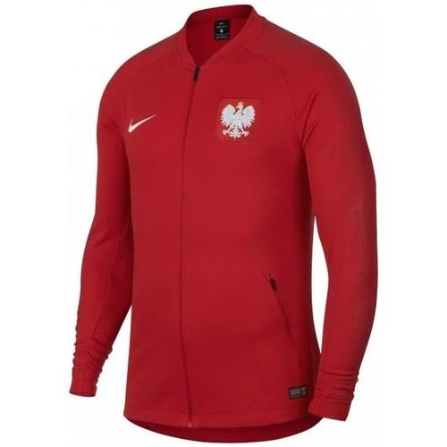vaatteet Miehet Svetari Nike Poland Anthem WC 2018 Punainen