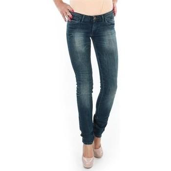 vaatteet Naiset Skinny-farkut Wrangler Spodnie  Molly 251XB23C blue