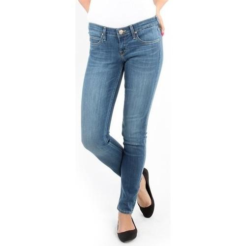 vaatteet Naiset Skinny-farkut Lee Spodnie Damskie  357SVIX Lynn  Skinny blue