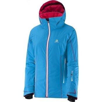 vaatteet Naiset Tuulitakit Salomon Kurtka  Whitecliff W 374721 blue