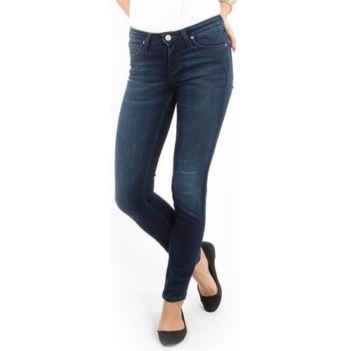 vaatteet Naiset Skinny-farkut Lee Scarlett Skinny Pitch Royal L526WQSO navy
