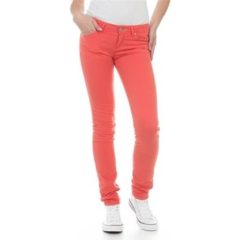 vaatteet Naiset Skinny-farkut Wrangler Jeans  Molly Melon W251U229M red