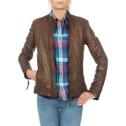 vaatteet Naiset Takit / Bleiserit Wrangler skórzana  WR4030ZC81 brown